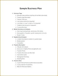 simple one page business plan template small business plan template word sample one page self