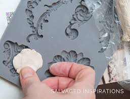 diy furniture applique w iod molds