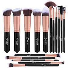 makeup brushes bestope makeup brush set professional 16 piece make up brushes premium synthetic foundation