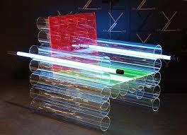 neon furniture. futuristic neon furniture f