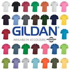 Gildan Mens Softstyle Ringspun Short Sleeve Plain Crewneck