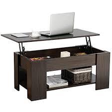 storage shelf coffee tables