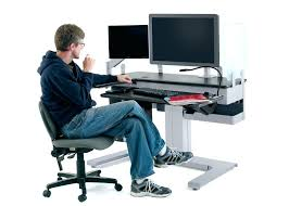 best ergonomics for computer desk ergonomics for standing computer desk