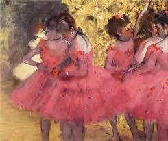 the pink rs before the ballet edgar degas french cm x cm oil on canvas ny carlsberg glyptotek copenhagen