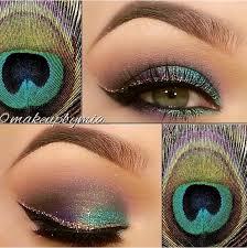 pea inspired eye makeup look