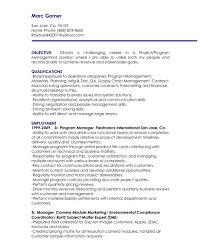 Resume Objectives For Management Positions Management Resume Objective Accounting Manager Samples Supervisor 6