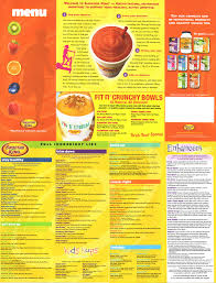 Smoothie King Nutrition Chart 36 Cogent Yerba Mate Pomegranate Smoothie King