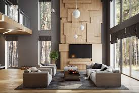 modern tv wall design