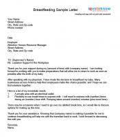 Sample Maternity Resignation Letters Sarahepps Com