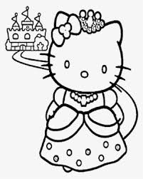 To print out your hello kitty coloring page, just click on the image you want to view and print the larger picture on the next page. Hello Kitty And A Nice Castle Coloring Page Coloring Pages To Print Princess Transparent Png 700x902 Free Download On Nicepng