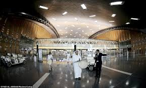 the newly remodelled hamad airport in doha qatar is easily one of the