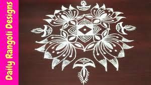 Said Design Muggulu Rangoli Lotus Rangoli Easy Rangoli Simple Rangoli 9