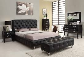 furniture marvelous benches for bedrooms furniture design black faux leather tufted button bench with stainless bedroom furniture benches