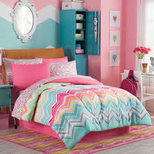 Little Girls Bedroom Sets Marrielle Complete Comforter Set Pink Accents Girls And Chevron