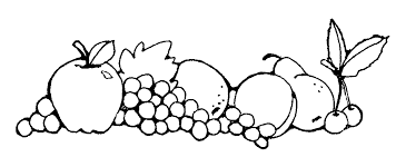 fruit bowl clipart black and white. Simple Clipart To Fruit Bowl Clipart Black And White F