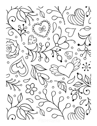13,537 valentines' bingo 9 printed: 50 Free Printable Valentine S Day Coloring Pages