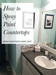 paint bathroom countertop awesome how to