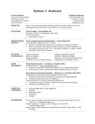 Internship Resume Samples For College Students Example Internship ...
