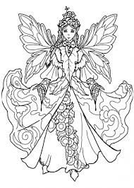 Barbie Mermaidng Pages Printable Gothic Fairy For Adults Free Kids