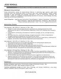 Legal Assistant Resume Samples Legal Assistant Resume Nice Legal Assistant Resume Samples Free 9