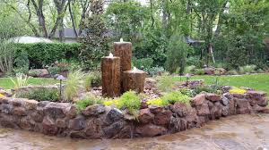 water fountains are becoming more popular as a feature in texas outdoor landscaping water fountains are a great way to incorporate art in your outdoor