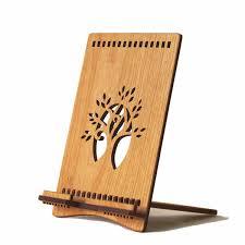 wood tree of life ipad stand by artisan hannah simons