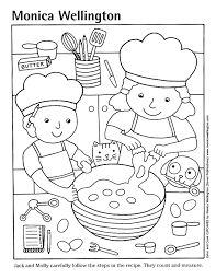 Small Picture Recipe Book Coloring Pages Coloring Pages Ideas