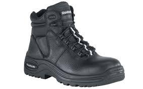 reebok steel toe. reebok rb6765 - men\u0027s trainex 6 inch waterproof puncture resistant sport boot black steel toe l