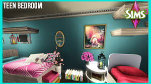 Sims 3 Bedroom The Sims 3 Big Teen Girl Bedroom Youtube