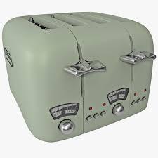 Retro Toasters toaster 3d models turbosquid 6613 by uwakikaiketsu.us