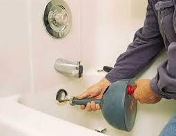 bathtub drain clogged decoration