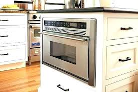 Microwave Drawer In Island Kitchen With   Microwave Drawer In Island D66