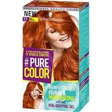 Schwarzkopf Pure Color 77 Zářivá Skořicová 60 Ml