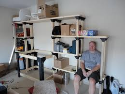 image of garage shelving ideas