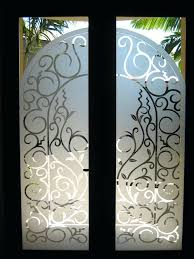 etched glass doors antique etched glass doors for