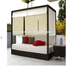 Rattan Bali Sofa Bed Outdoor With Canopy - Buy Bali Bed Outdoor,Rattan Sofa  Bed,Rattan Bed With Canopy Product on Alibaba.com