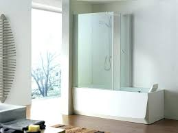 sterling tub shower bathtubs idea stunning unit bathroom decor with glass panel and kits ster