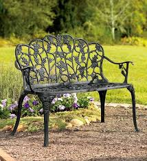 Wrought Iron Garden Tables Best Wrought Iron Benches Outdoor