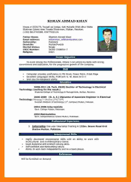 Resume Format Download For Ms Word Resume Examples Resume Template