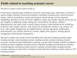 Teacher Assistant Cover Letters Tomyumtumweb Com