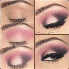 change the way you look today this pink powered eye makeup is achievable in 6 easy steps