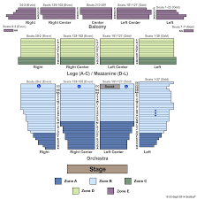 Orpheum Theatre San Francisco Seating Chart Best Seats
