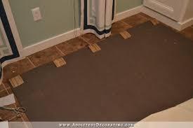 how to make a faux fur rug diy faux flokati rug 1