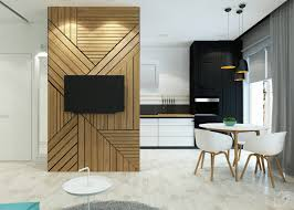 ... Small apartment feature TV wall by Leo D'uk
