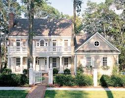 Plan 32496wp stunner with second story deck colonial house