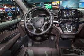 2018 honda odyssey interior. delighful 2018 detroit auto show inside 2018 honda odyssey interior