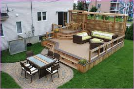 Small Picture Deck Designs For Small Backyards Backyard Landscape Design