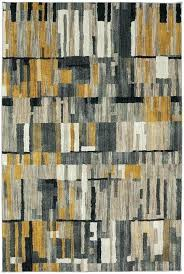 shuff charcoal mustard yellow gray area rug rugs braid diamond natural home muse reviews and grey