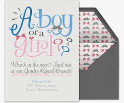 Free Gender Reveal Party Online Invitations Evite