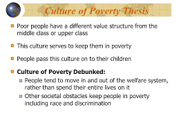 social stratification ppt video online  culture of poverty thesis